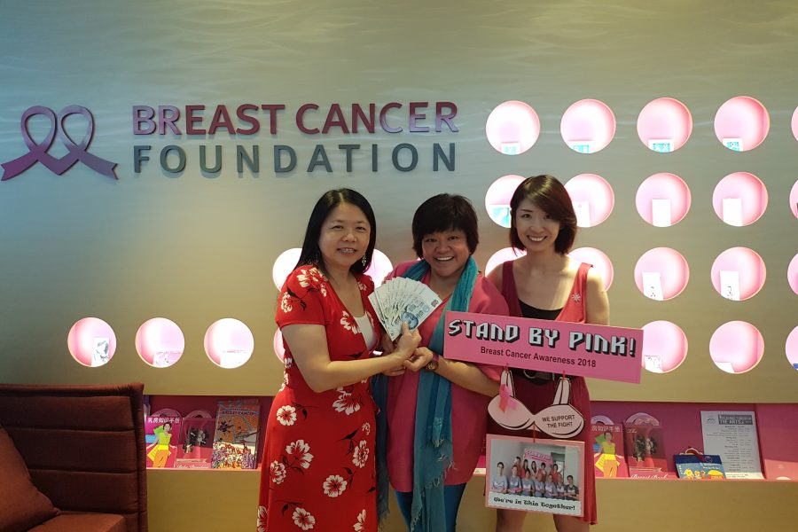 Prize Presentation for STAND BY PINK! Photo Contest at BCF Singapore