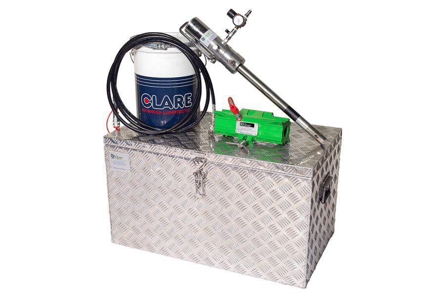 Mini-Viper MKII Wire Rope Lubricator