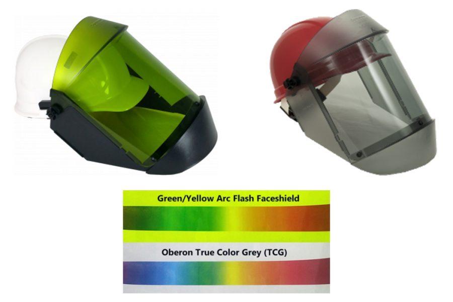 Oberon Deluxe True Color Grey 12 cal/cm2 Face Shield