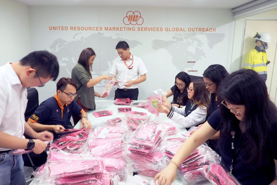 URMS first CSR Project – STAND BY PINK! Be an advocate for Breast Cancer Awareness
