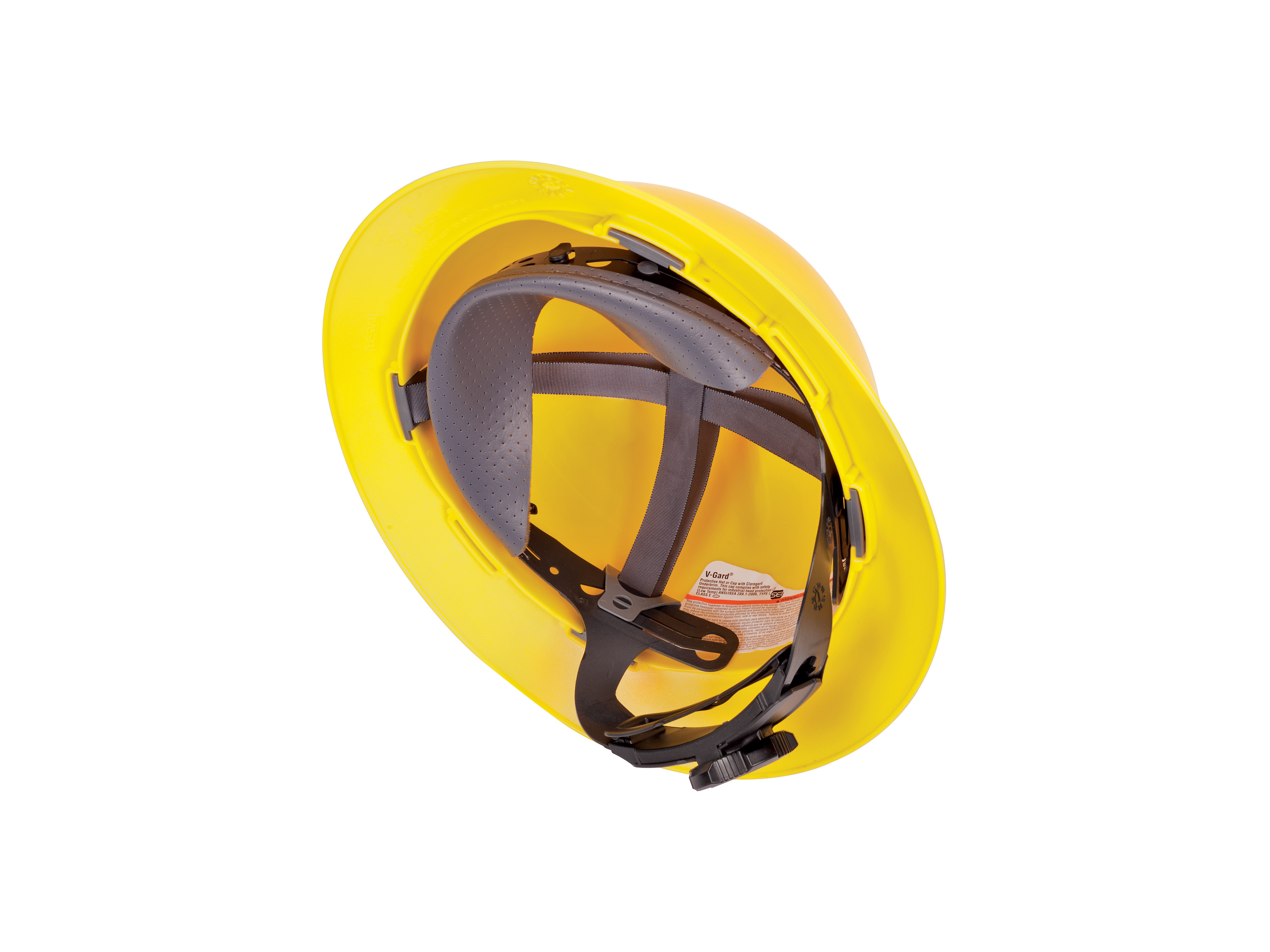 MSA Standard V-Gard Slotted Hat C/W Fas-Trac III Suspension
